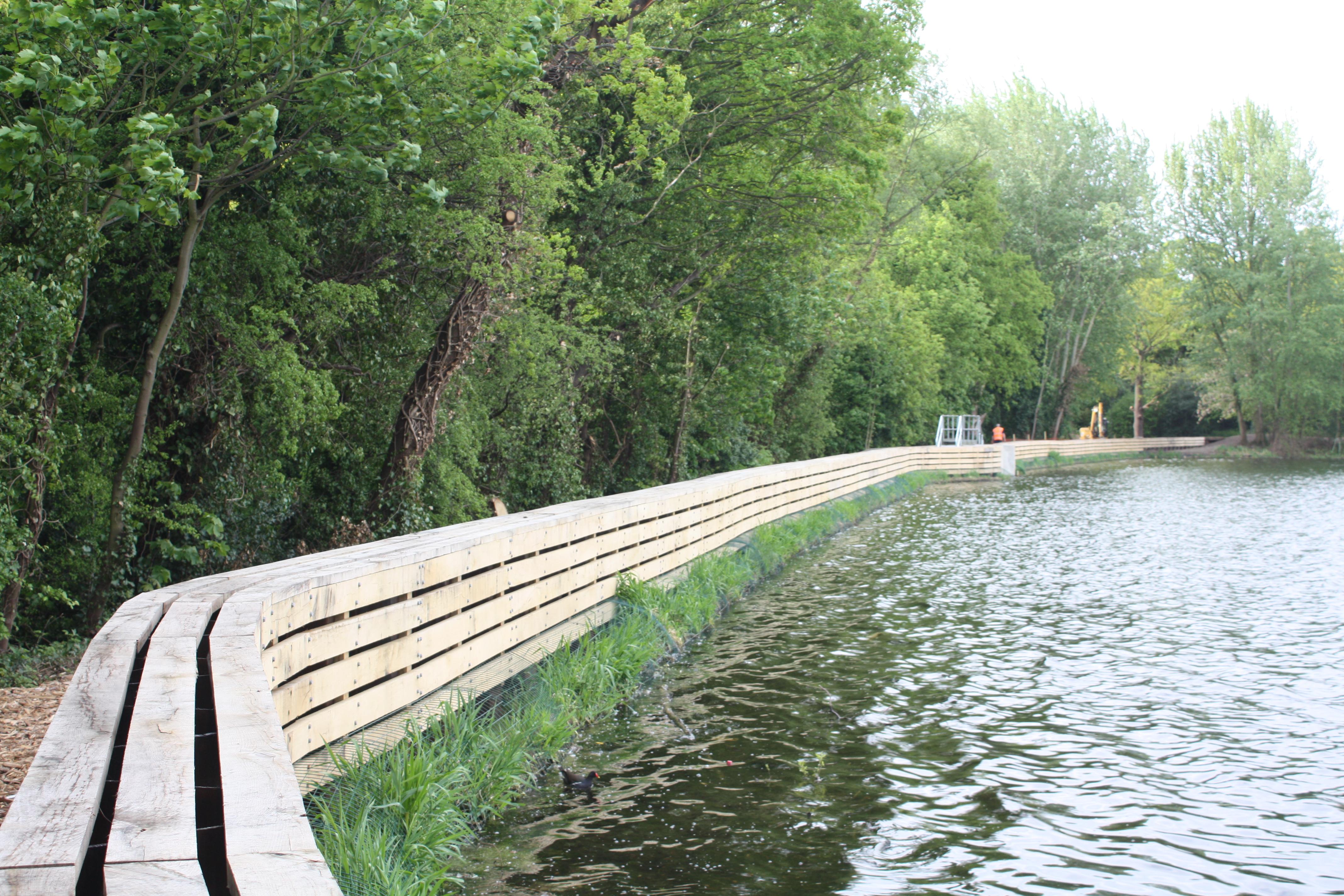 Eagle Pondembankment Improvements 187 Stillwater Associates
